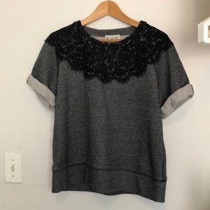 Sea lace tshirt